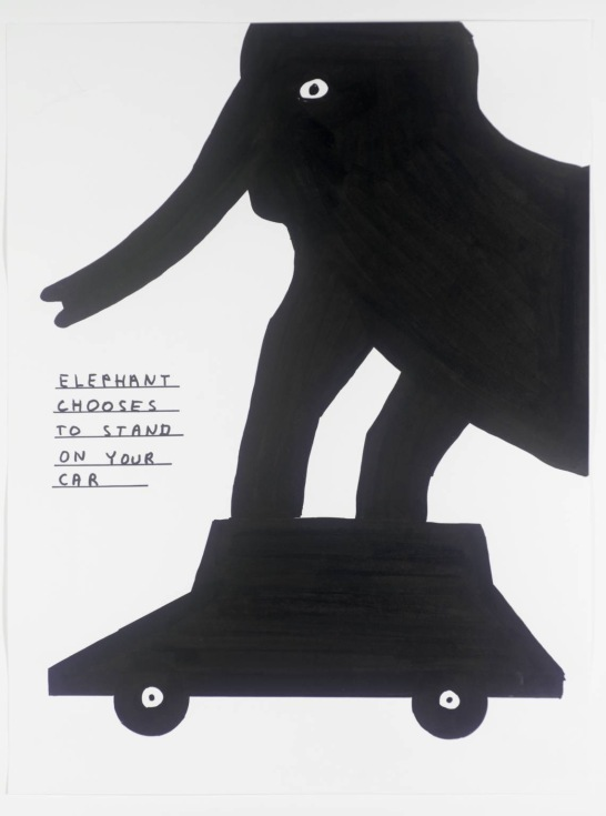 Untitled 2004 by David Shrigley born 1968